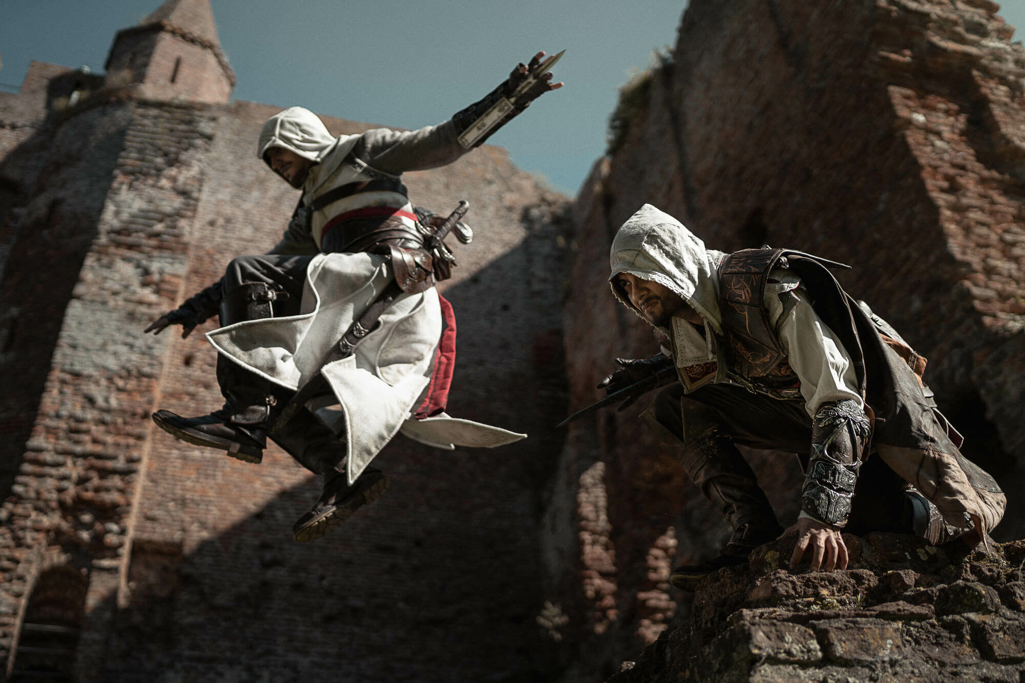 Assassins Creed Altair Ezio Cosplay