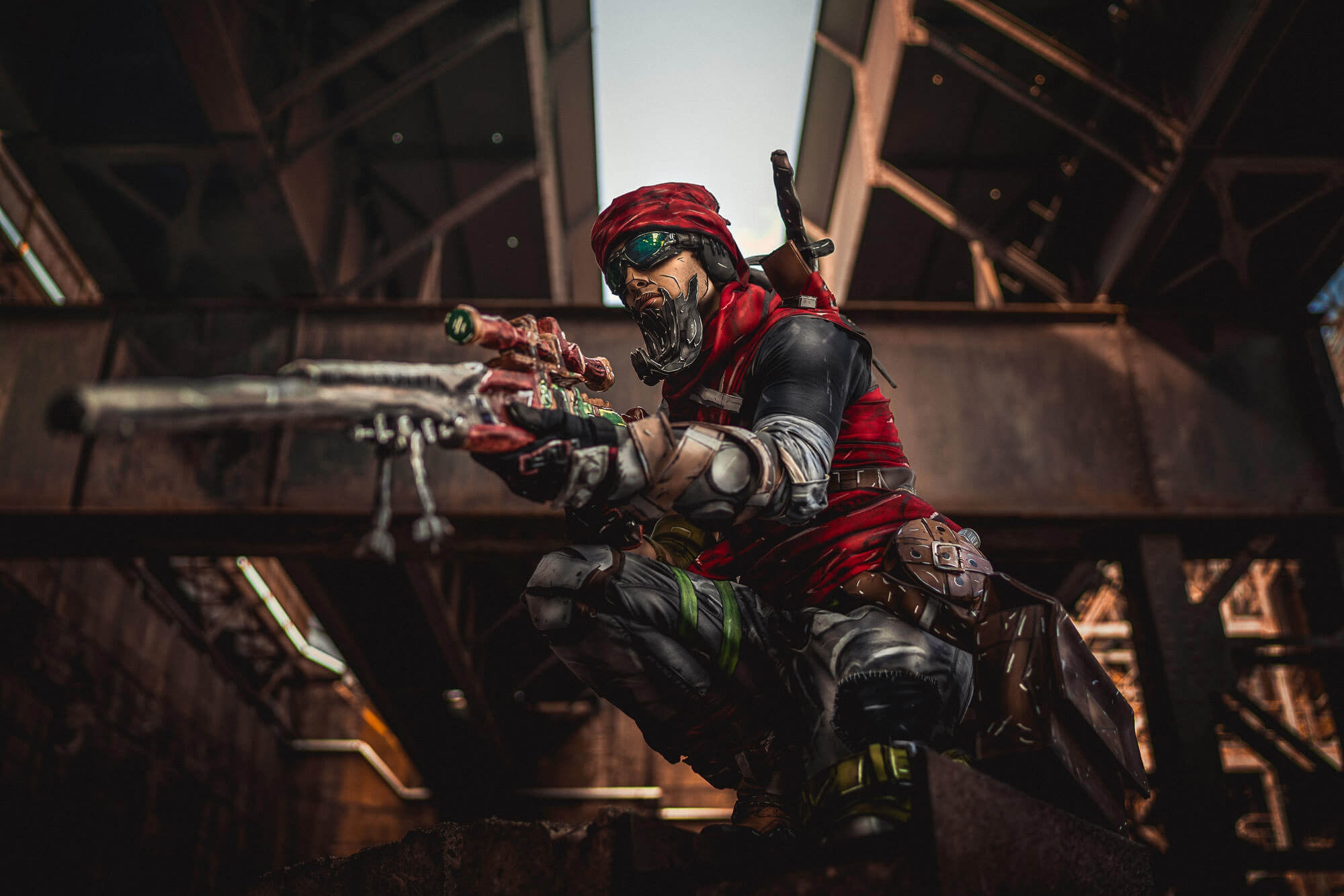 Borderlands Mordecai Cosplay