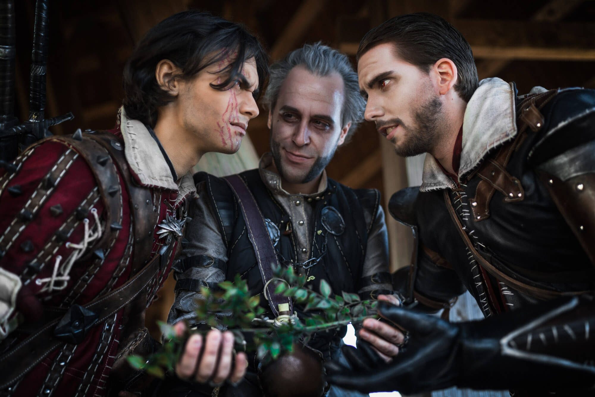 The Witcher Regis, Eskel, Lambert Cosplay