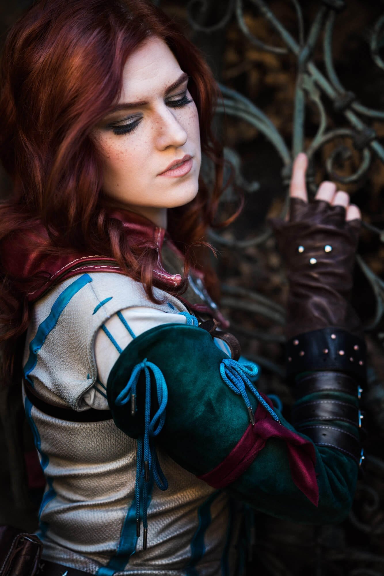 The Witcher Triss Merigold Cosplay